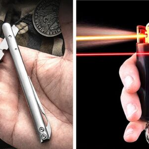 10 TINY Self Defense Gadgets Available On AMAZON