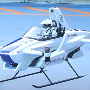 12 Ridiculous Flying Vehicles You've Never Seen Before
